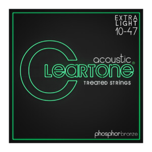Cleartone 7410 Ultra Light 10-47 Acoustic Guitar Strings