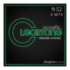 Cleartone Pack 2 Juegos Cuerdas Acústica Phos-Bronze 11-52