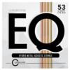 Cleartone EQ Metal 12-53 Acoustic Guitar Strings