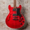 Framus Mayfield Pro - Burgundy Red Transparent High Polish