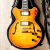 Heritage Standard H-155M Semi-Hollow Almond Sunburst