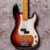 Rittenhouse PBass Sunburst Maple Neck