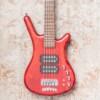 Warwick Pro Series Corvette $$ 5-String Electric Bass - Burgundy Red