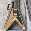 Echopark Striped Korina Flying V Albert '58 Custom Aged