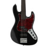 Sadowsky 21-4 Fret Hyprid PJ Fretless - Solid Black High Polish