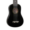 Diamond Head DU-100 Rainbow Soprano Ukulele – Black