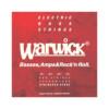 Warwick Cuerdas Bajo Red Label 42200 Acero Inoxidable, 045-105